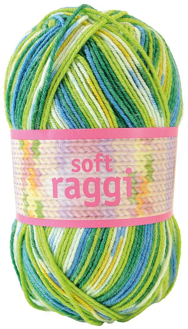 Soft Raggi 31207 Lime/Turquoise print